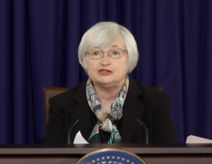 Janet Yellen begins her first FOMC Press Conference as Fed Chairwoman