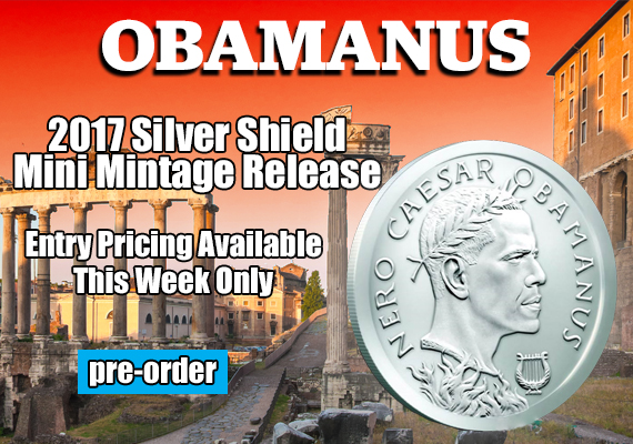 Buy Silver Obamanus at SD Bullion