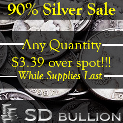 Silver Sale Any Quantity