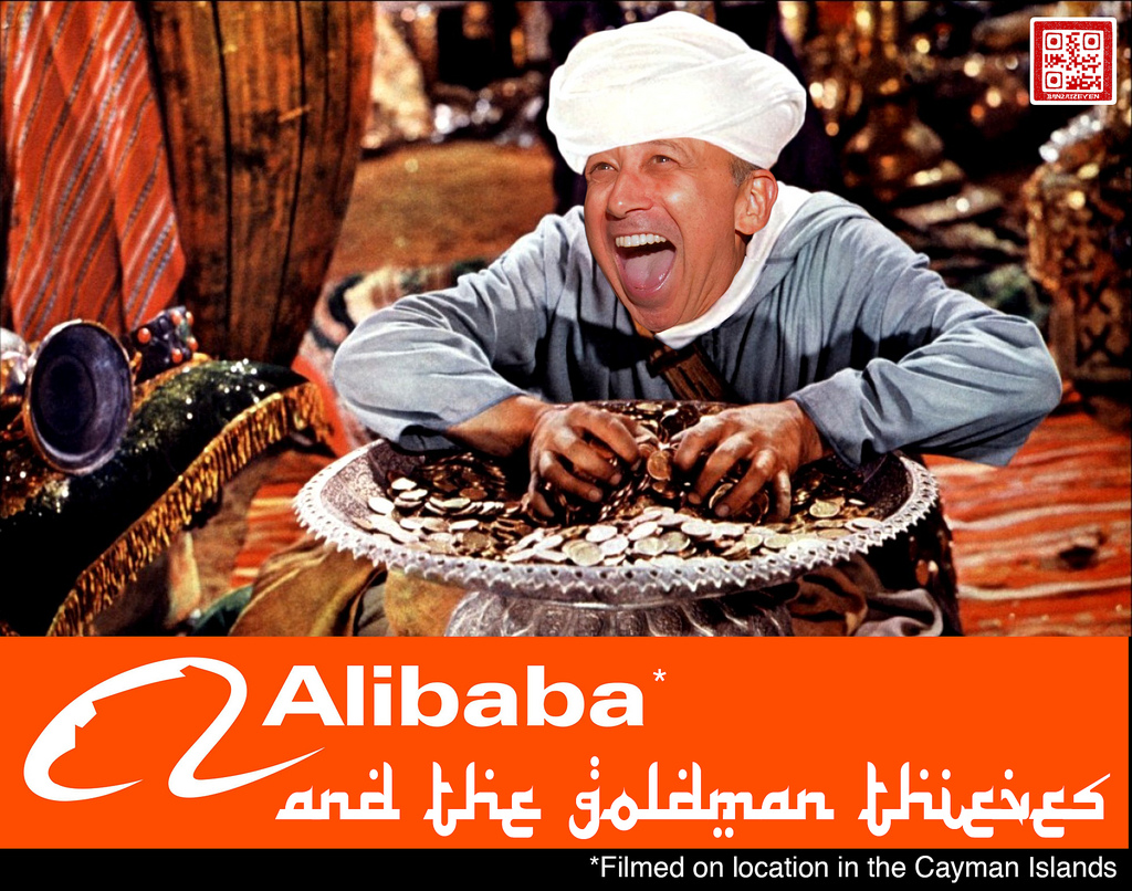 alibaba and the goldman