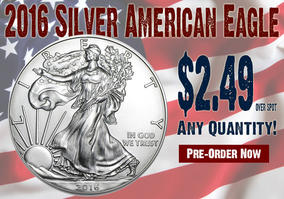 2016 Silver Eagle SDBullion