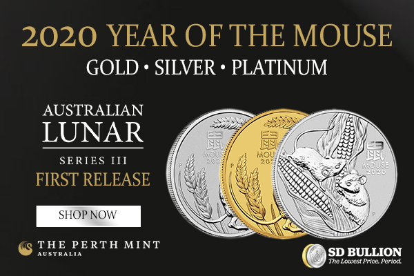 Lunar Series III Year of the Mouse Coins